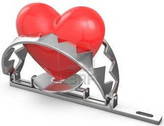 heart in a trap
